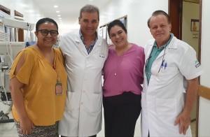 Drs. Marta DR Moura, Guaracy, Sandra Lins e Paulo R. Margotto (6/11/2019)