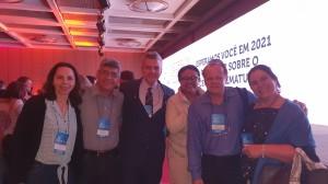 Dr. Joseliede de Castro, Sérgio Veiga, Guilherme Sant´Anna, Marta DR Moura, Paulo R. Margotto e Sandra Lins (NEOBRAIN BRASIL, 9/11/2019)