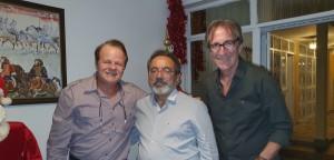 Drs. Paulo R. Margotto, Raulê de Almeida e Jefferson Guimarães Resende (REUNIÃO  ESCALA DE PLANTÃO-Neonatologistas dos anos 90:3/12/2019)