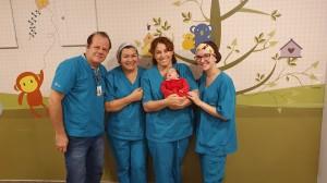 Drs. Paulo R. Margotto, Vitória, Vera e Fernanda (UTI Neonatal do Hospital Santa Lúcia, 2/12/2019)