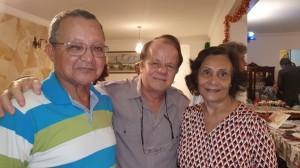 Drs. José Rodrigues, Paulo R. Margoto e Maura (REUNIÃO  ESCALA DE PLANTÃO-Neonatologistas dos anos 90:3/12/2019)