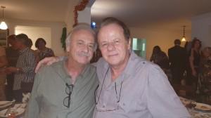 Dr. Cléris e Dr. Paulo R. Margotto (REUNIÃO  ESCALA DE PLANTÃO-Neonatologistas dos anos 90:3/12/2019