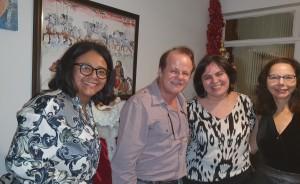 Ds. Marta DR de Moura, Paulo R. Margotto, Sandra Lins e Joseleide de Castro (REUNIÃO  ESCALA DE PLANTÃO-Neonatologistas dos anos 90:3/12/2019)