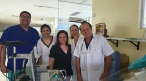 Drs. Mário, Geane, Geórgia, Joseleide e Paulo R. Margotto (4/12/2019)