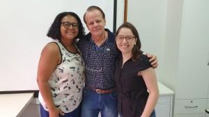 Drs. Marta DR de Moura, Paulo R. Margotto e Ttiane-R4 (22/1/2020)