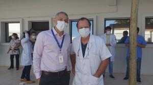 Drs. Neulânio e Paulo R. Margotto (Unidade de Neonatologia do HMIB/SES/DF em 2/9/2020