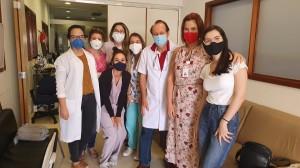 Residentes e Staffs da Unidade de Neonatologia do HMIB/SS/DF em 30/9/2020