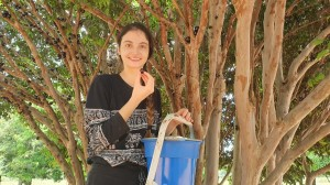 Paula Cistina Margotto na Fazenda Paula Cristina, no Município de Água Fria, GO (14/11/2020)