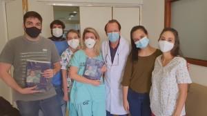 Residentes em Neonatologia da Unidade de Neonatologia do HMIB/SES/DF (16/12/2020)