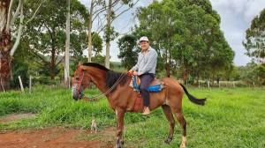 Dr. Paulo R. Margotto na Fazenda Paul Cristina, Município de  Água Fria, GO (23/12/2020)