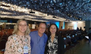 22o Simpósio Internacional de Neonatologia do Santa Joana (SP):Drs. Alessandra Moreira, Paulo R. Margotto e Joseleide de Castro (14/9/2019)