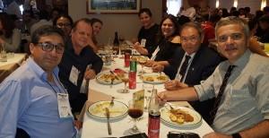 Almoço com os Dr. Wung e Guilherme Sant´Anna (26/10/2018)