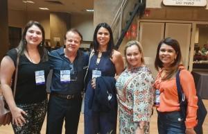 22o Simpósio Internacional de Neonatologia do Santa Joana (SP):Drs. Patrícia, Paulo R. Margotto, Marcela, Amélia e Patrícia Colares (12/9/2019)