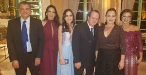 Drs. Américo, Suzana, Moab, Paulo R. Margotto, Ana Amélia e  Edlânia (22/6/2019)