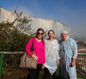 Dani-Josy-Paulo-Cataratas Iguaçu
