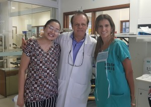 Drs. Daniela Megumi, Paulo R. Margotto e Nathália Bardal (31/1/2019)