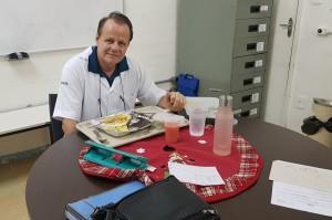 D.r Paulo R. Margotto-almoço no Alojamento Conjunto do HMIB (19/12/18)
