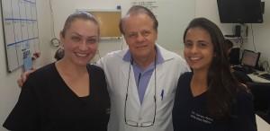 Drs. Bárbara Lalinka, Paulo R. Margotto e Gabriela Rabelo Cunha (12/6/2019)