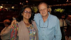 Dra. Carmen e Dr. Paulo R. Margotto (Internato 6a Série-Universidade Católica de Brasília) em 5/6/18