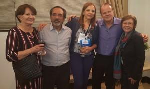 Drs. Marlene Farias,Raulê de Almeida, Telma, Paulo R. Margotto e Nilcéia Peclat (25-10-2018)