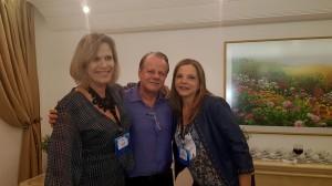 Drs. Miza Vidigal, Paulo R. Margotto e Telma(25-10-18)