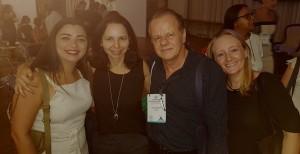Drs. Livia, Joseleide de Castro, Paulo R. Margoto e Aline (25/10/2018)