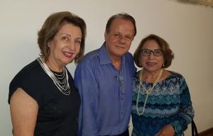 Drs. Lígia Guerra, Paulo R. Margotto e Rosa Mariz ( 25-10-2018)