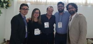 Drs. Gabriel, Lilly, Paulo R. Margotto, Alexandre e Raphael Calmon (26/10/2018)