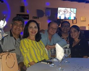 Drs. Sérgio Veiga, Joseleide de Castro, Paulo R. Margotto, Marta David R. de Moura e Evely Mirela (7-12-2018)