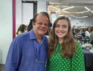 22o Simpósio Internacional de Neonatologia do Santa Joana (SP):Drs. Paulo R. Margotto e Maria Eduarda (14/9/2019)
