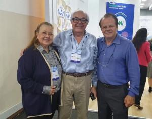 22o Simpósio Internacional de Neonatologia do Santa Joana (SP):Drs. Edna Diniz, Navantino Alves Filho e Paulo R. Margotto (14/9/2019)