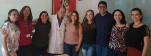 Drs. Evelyn, Ana Lúcia, Deyse, Paulo R. Margotto, Gabriela, Maria Eduarda, Gustvo Borela, Joseleide de Castro e Milena (26/9/2018)