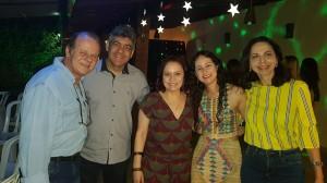 Drs. Paulo R. Margotto, Sérgio Veiga, Geórgia, Letícia (R4) e Joseleide de Castro (7/12/2018)