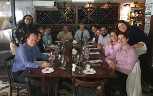 Almoço com os Dr. Wung e Guilherme Sant´Anna (25/10/2018)