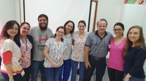 Staffs e Residentes da Unidade de Neonatologia do HMIB (28/1/2020)