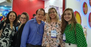 22o Simpósio Internacional de Neonatologia do Santa Joana (SP):Drs. Joseleide de Castro, Lorena, Paulo R. Margotto, Alessandra Moreira e Maria Eduarda (14/9/2019)