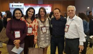 11o Simpósio Internacional do Rio de Jnaeiro (20-23/6/2018).Dr.Licia, Jucile, Leila, Paulo R. Margoto, Paulo Nader