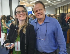 22o Simpósio Internacional de Neonatologia do Santa Joana (SP):Dra. Lorena e Dr. Paulo R. Margotto (14/9/2019)