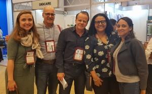 11o Simpósio Internacional do Rio de Janeiro (20-23/6/2018). Drs. Maria Eduarda, Sérgio Marba, Paulo R. Margotto, Marta e Evelyn