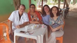 Drs. Paulo R. Margotto, Marta DR de Moura, Sandra Lins e Joseleide de Castro (30/9/2019)
