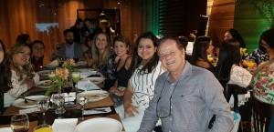 Jantar no Côco Bambu da Maternidade Brasilia (25-4-2019)