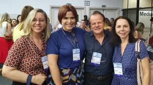22o Simpósio Internacional de Neonatologia do Santa Joana (SP):Drs. Alessandra, Miza Vidigal, Paulo R. Margotto e Joseleide de Castro (1/9/2019)