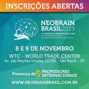 NEOBRAIN BRASIL 2019. Vamos todos estar lá!obtenha informações no site:www.neobrainbrasil.com.br