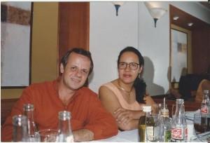 Dr. Paulo R. Margotto e Dra. Olga em 1995