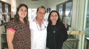 Unidade de Neonatologia do HMIB/SES/DF.Drs. Patricia (R4 em Neonatologia), Paulo R Margotto e Joseleide de Castro (18/6/2018)