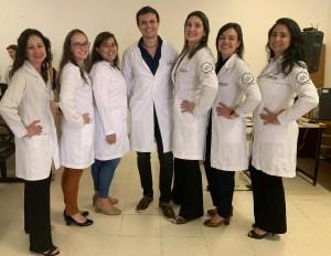 R4 de Neonatologia no HMIB no dia da Apresentação das Monografias: Drs. Letícia, Fernanda, Deyse, Marcos, Patrícia, Lara e Deborah (4/2/2019)