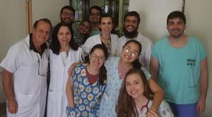 Residentes de Neonatologia da Unidade de Neonatologia do HMIB/SES/DF (11/3/2019)