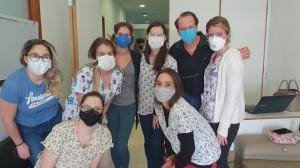 Residentes de Neonatologia no HMIB/SES/DF em 22-9-2020