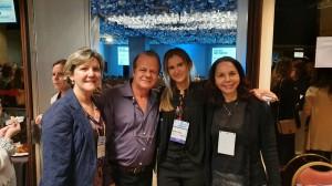 22o Simpósio Internacional de Neonatologia do Santa Joana (SP): Drs. Rita, Paulo R. Margotto, Nathalia Bardal e Joseleide de Castro (13/9/2019)
