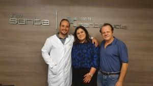 Drs.Raul Diretor do Hospital Santa Lúcia, Sandra Lins, Coordenadora da UTI Neonatal do Hospital Santa Lúcia e Paulo R. Margotto em -4-10-2019